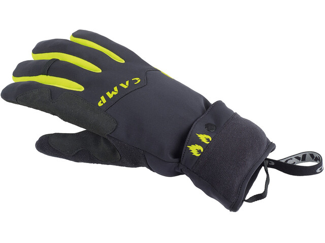 Camp G Comp Warm Gloves Black / Lime
